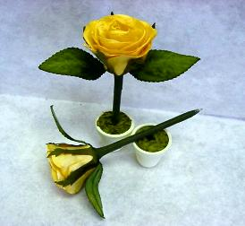 Yellow Rose Pen